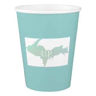 MIchigan U.P. Paper Cup