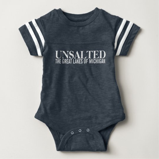 Michigan Unsalted Long Sleeve Toddler Shirts