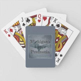 Michigan Upper Peninsula Playing Cards