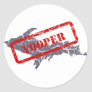 Michigan Upper Peninsula Yooper Sticker