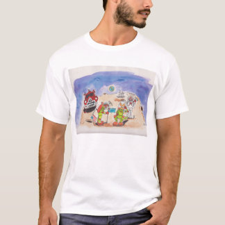 Mick and Hoppa, First Aussies on the Moon T-Shirt