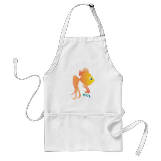 Mick the Goldfish Standard Apron