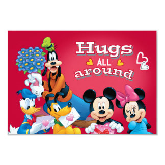 Mickey and Friends Hugs All Around Card