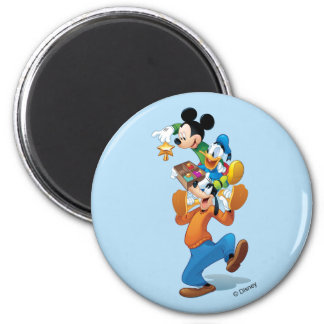 Mickey And Friends | Mickey Decorating The Tree Magnet