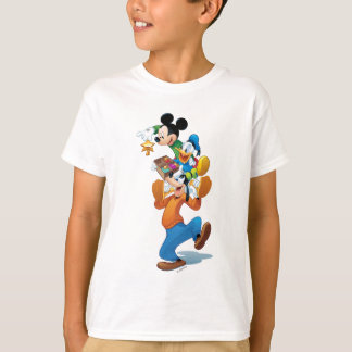 Mickey And Friends | Mickey Decorating The Tree T-Shirt