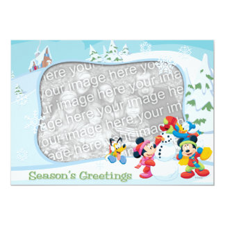 Mickey and Friends: Season's Greetings Card Announcements