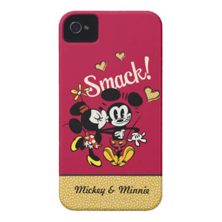 Mickey and Minnie - Smack iPhone 4 Cases