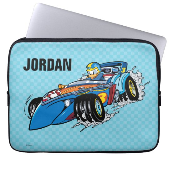 Mickey and the Roadster Racers | Donald Laptop Sleeve