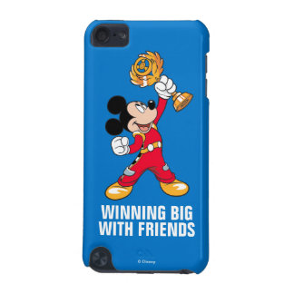Mickey and the Roadster Racers | Mickey & Trophy iPod Touch (5th Generation) Case