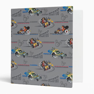 Mickey and the Roadster Racers Pattern Binder