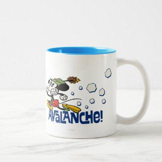Mickey - avalanche ! mug bicolore