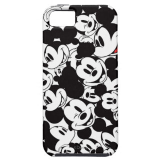 Mickey Crowd Pattern Case For The iPhone 5