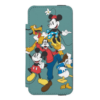 Mickey & Friends | Classic Group Incipio Watson™ iPhone 5 Wallet Case