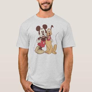 Mickey & Friends | Classic Mickey & Pluto T-Shirt
