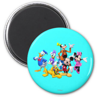 Mickey & Friends | Clubhouse Magnet