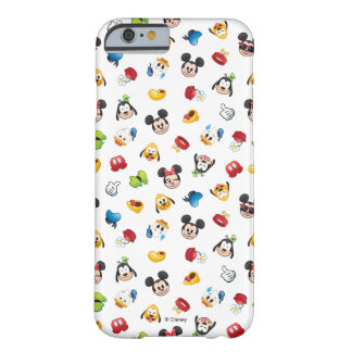 Mickey & Friends Emoji Pattern Barely There iPhone 6 Case