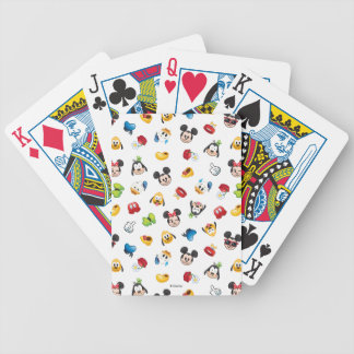Mickey & Friends Emoji Pattern Bicycle Playing Cards