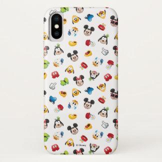 Mickey & Friends Emoji Pattern iPhone X Case
