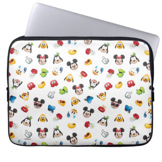 Mickey & Friends Emoji Pattern Laptop Sleeve