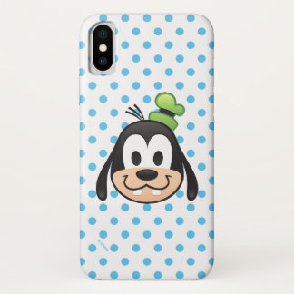 Mickey & Friends | Goofy Emoji iPhone X Case