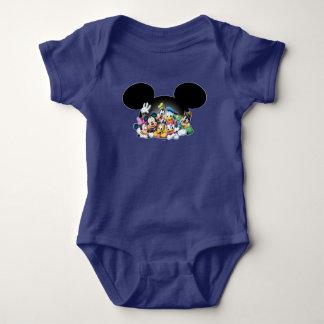 Mickey & Friends | Group in Mickey Ears 2 Baby Bodysuit