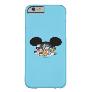 Mickey & Friends | Group in Mickey Ears Barely There iPhone 6 Case