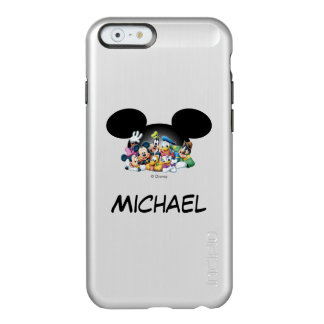 Mickey & Friends | Group in Mickey Ears Incipio Feather® Shine iPhone 6 Case