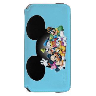 Mickey & Friends | Group in Mickey Ears Incipio Watson™ iPhone 6 Wallet Case