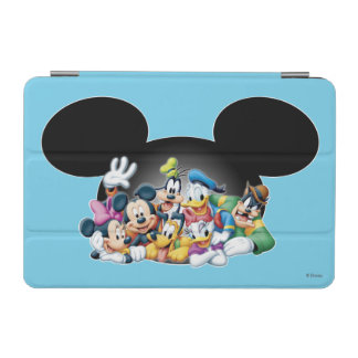 Mickey & Friends | Group in Mickey Ears iPad Mini Cover