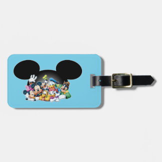Mickey & Friends | Group in Mickey Ears Luggage Tag
