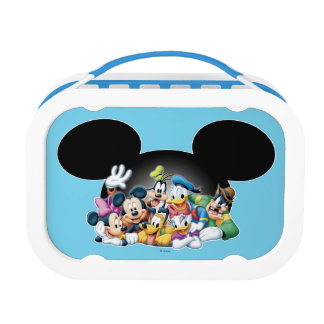 Mickey & Friends | Group in Mickey Ears Lunchboxes