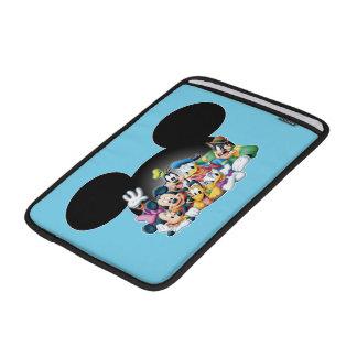 Mickey & Friends   Group in Mickey Ears MacBook Air Sleeves