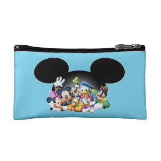 Mickey & Friends | Group in Mickey Ears Makeup Bag