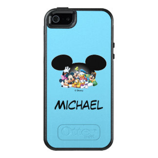 Mickey & Friends | Group in Mickey Ears OtterBox iPhone 5/5s/SE Case