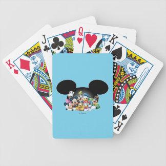 Mickey & Friends | Group in Mickey Ears Poker Deck