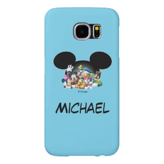 Mickey & Friends | Group in Mickey Ears Samsung Galaxy S6 Cases