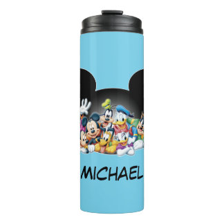 Mickey & Friends | Group in Mickey Ears Thermal Tumbler
