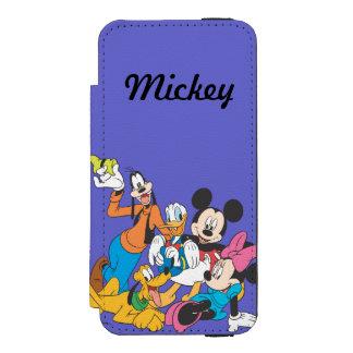Mickey & Friends | Leaning Incipio Watson™ iPhone 5 Wallet Case