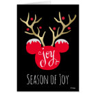 Mickey & Friends   Mickey Christmas Joy Card