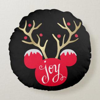 Mickey & Friends | Mickey Christmas Joy Round Pillow