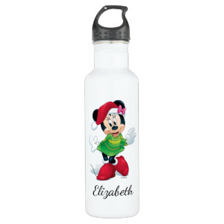 Mickey & Friends | Minnie Dressed For Christmas 710 Ml Water Bottle