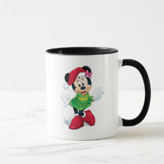 Mickey & Friends | Minnie Dressed For Christmas Mug