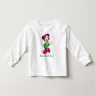 Mickey & Friends | Minnie Dressed For Christmas Toddler T-shirt
