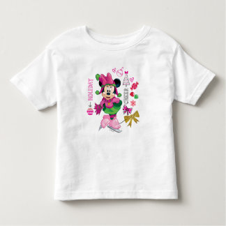 Mickey & Friends | Minnie Holiday Cheer 2 Toddler T-shirt