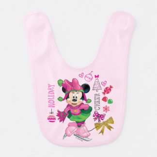 Mickey & Friends | Minnie Holiday Cheer Bib