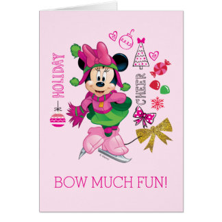 Mickey & Friends | Minnie Holiday Cheer Card