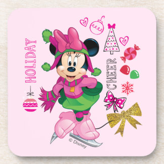 Mickey & Friends   Minnie Holiday Cheer Coaster