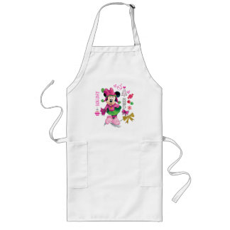 Mickey & Friends   Minnie Holiday Cheer Long Apron