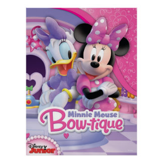 Mickey & Friends | Minnie's Bow-tique Poster