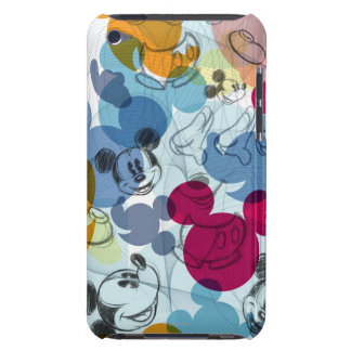 Mickey & Friends | Mouse Head Sketch Pattern Barely There iPod Covers